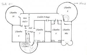 Plan 2e étage